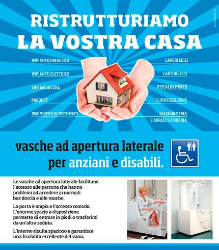 Bagno per anziani e disabili sostituzione sanitari bagno professionali - Bagno disabili obbligatorio ...