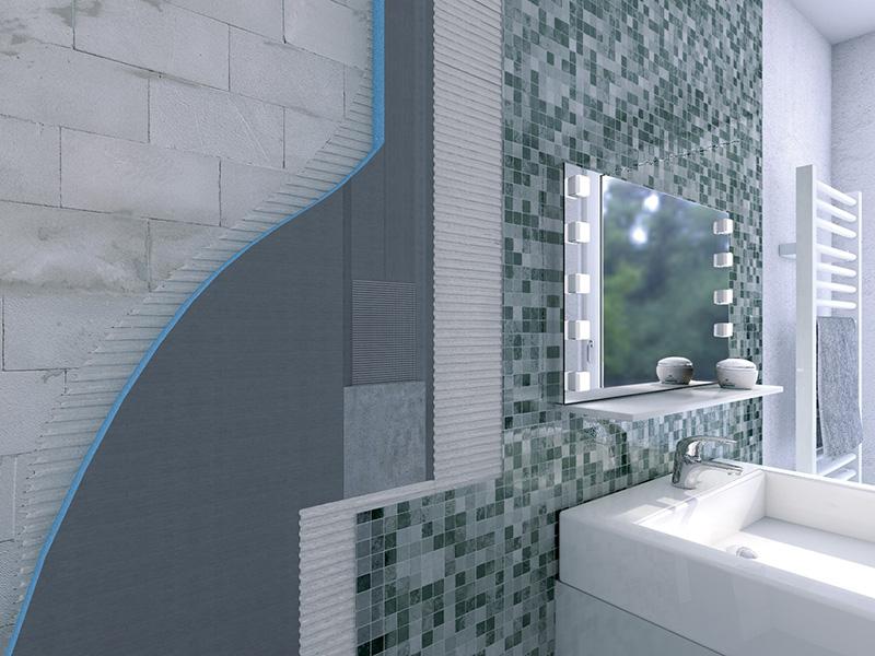 Pannelli wedi in polistirene per ristrutturazione interni for Pannelli rivestimento doccia